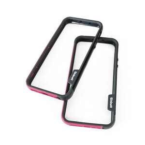 Купить Бампер Zenus Walnutt Bumper Trio Black/Purple для iPhone 5/5S/SE