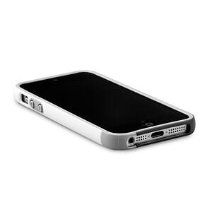 Купить Бампер Zenus Walnutt Bumper Trio White/Gray для iPhone 5/5S/SE