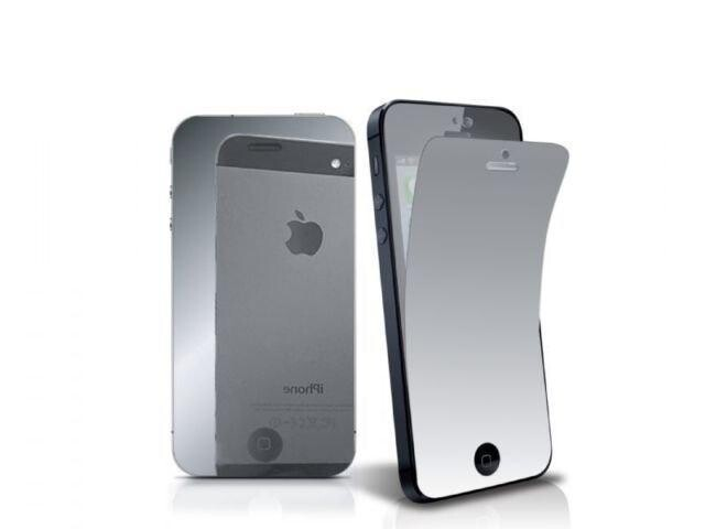 Зеркальная защитная пленка для iPhone 5/5S/SE/5C