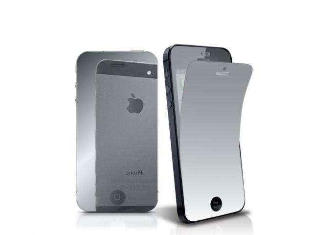 Зеркальная защитная пленка для iPhone 5/5S/SE