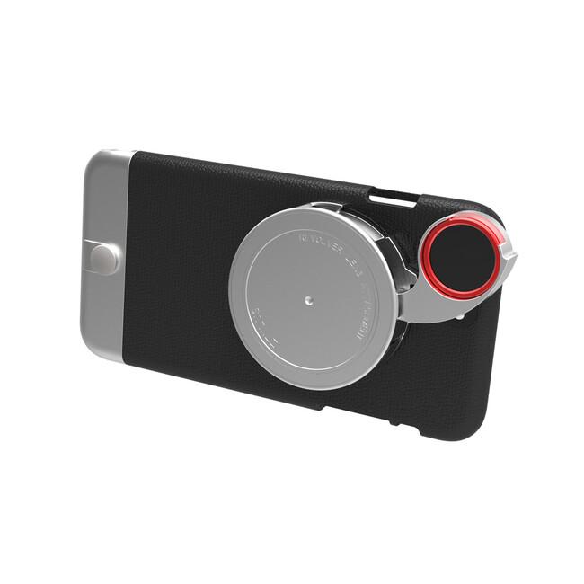 Чехол с камерой Ztylus Metal Camera Kit Black для iPhone 6/6s Plus