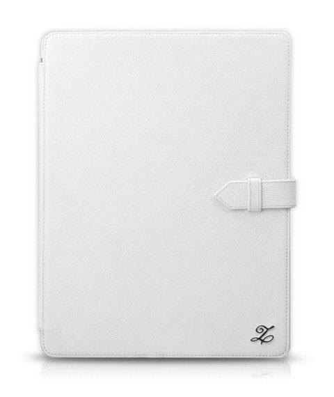 ZENUS 'Prestige' Classic Business Portfolio Series - White для iPad 4/3