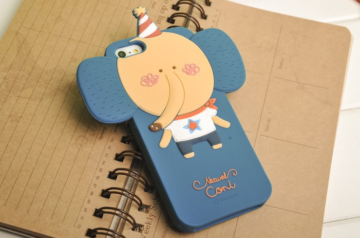 3d чехол momo's elephant iphone 5