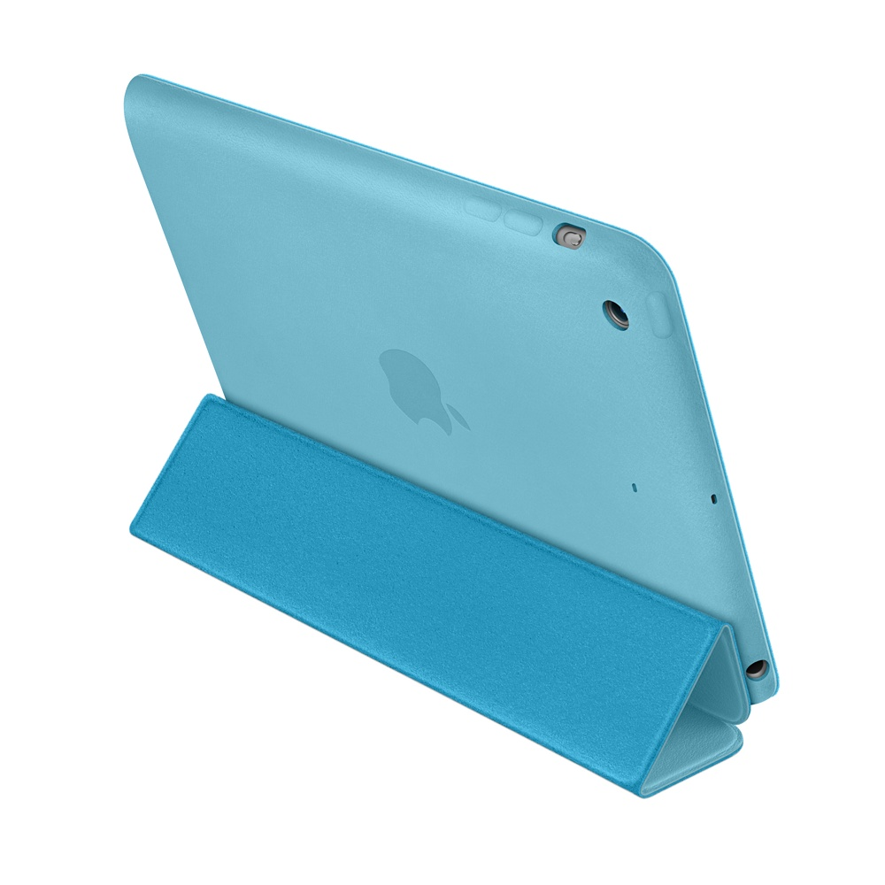 чехол apple smart case blue для ipad mini