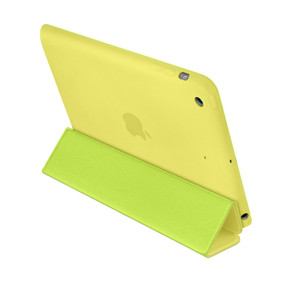 чехол apple smart case yellow для ipad mini