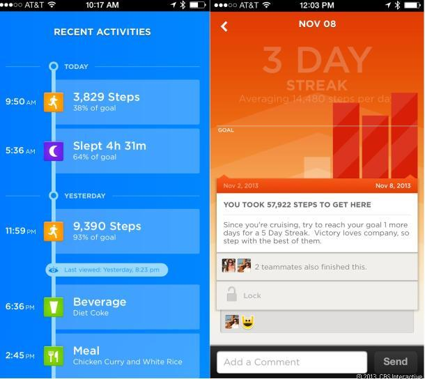 jawbone up24 apps