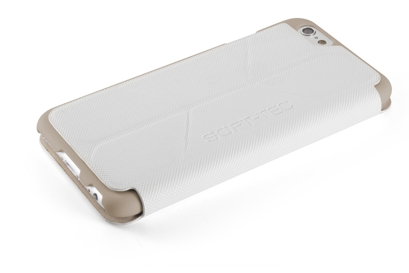 Чехол Element Case Soft-Tec White/Gold для iPhone 6 (4.7)