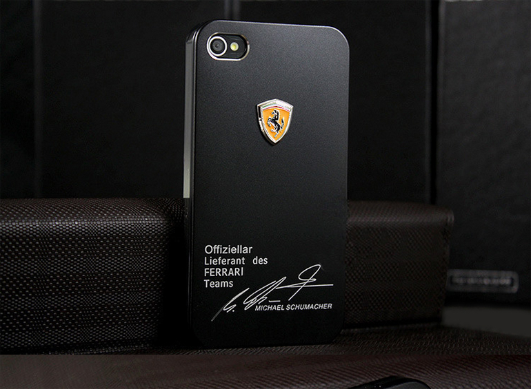 чехол ferrari michael schumacher black для iphone 4 4s