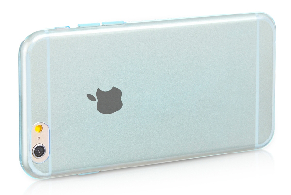 чехол HOCO Light TPU Blue для iPhone 6