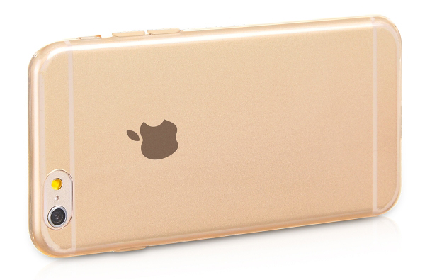 чехол HOCO Light TPU golden для iPhone 6