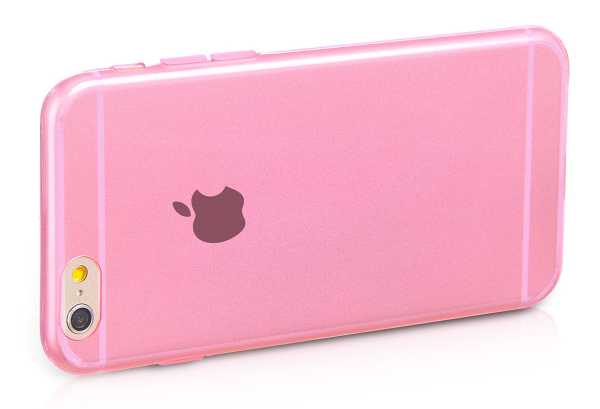 чехол HOCO Light TPU Pink для iPhone 6