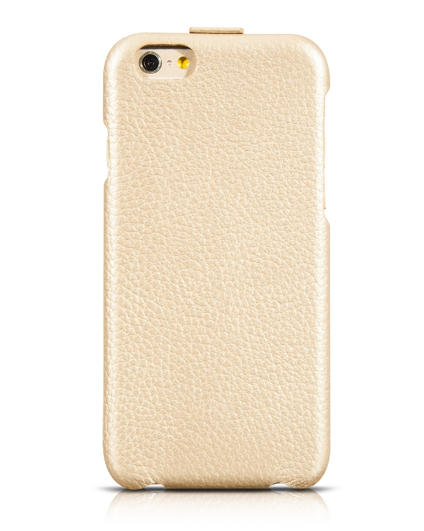чехол hoco premium collection flip leather case iphone 6 golden