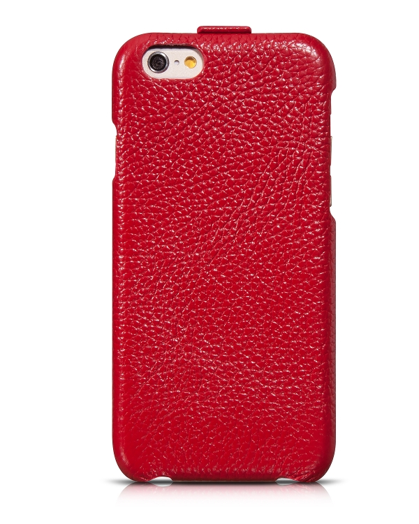 чехол hoco premium collection flip leather case iphone 6 red