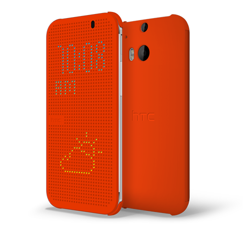 htc dot view Orange Popsicle