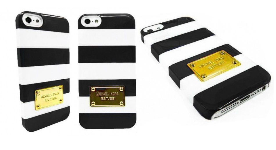 чехол michael kors striped iphone 5