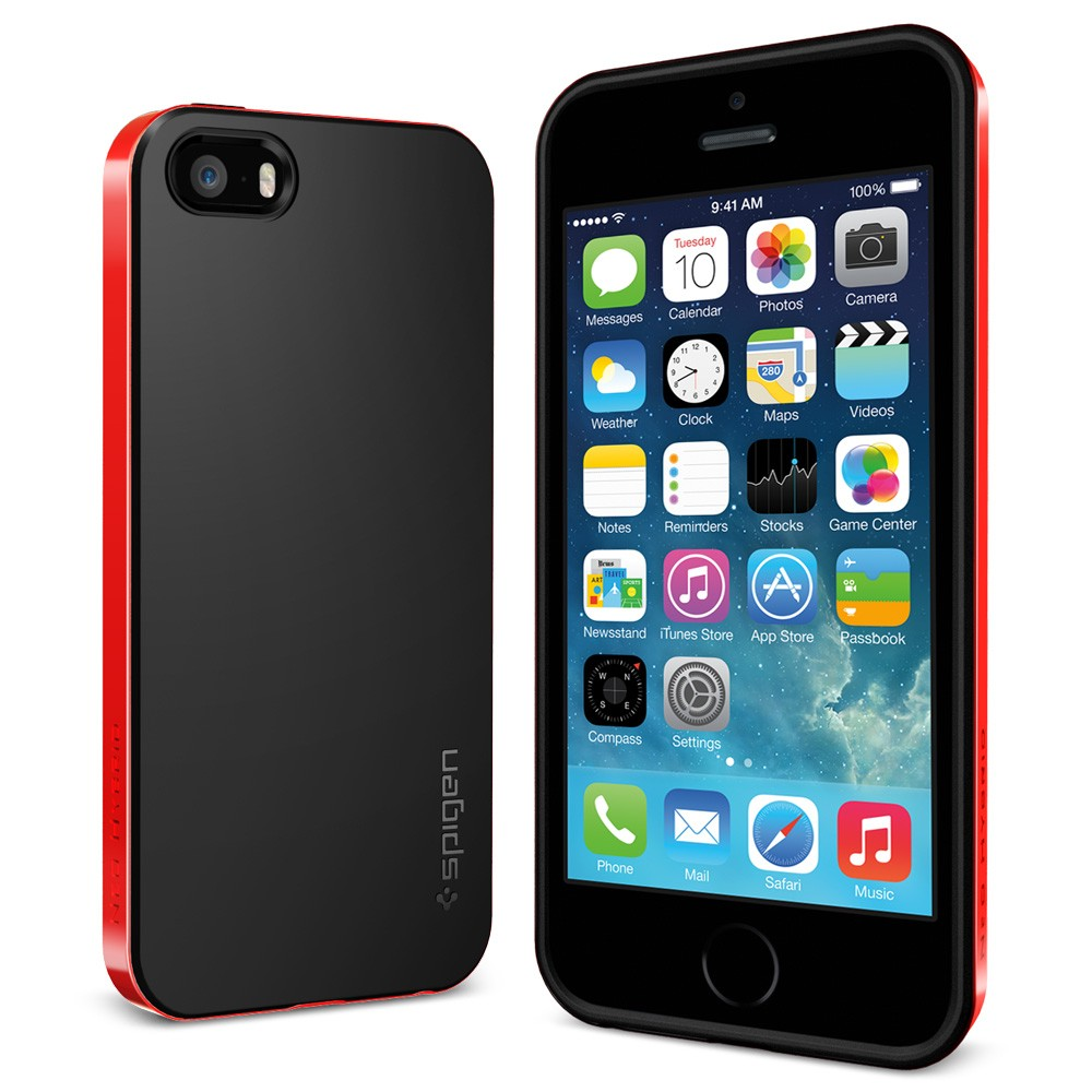 sgp Neo Hybrid dante red iphone 5 5S