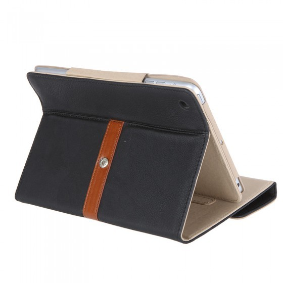 чехол retro buckle ipad mini black