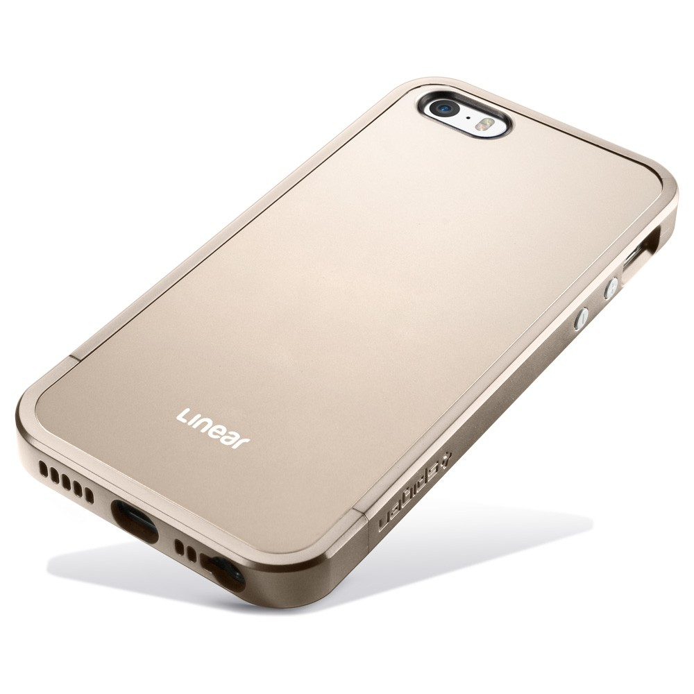 sgp linear metal Champagne Gold iphone 5 5s