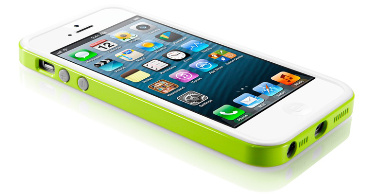 chehol-sgp-neo-hybrid-ex-slim-snow-lime-iphone-5