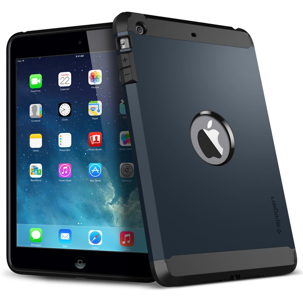 чехол sgp tough armor metal slate для ipad mini with retina display