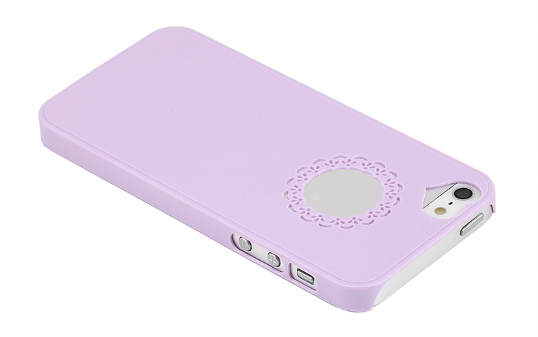 чехол sweet heart iphone 5 purple