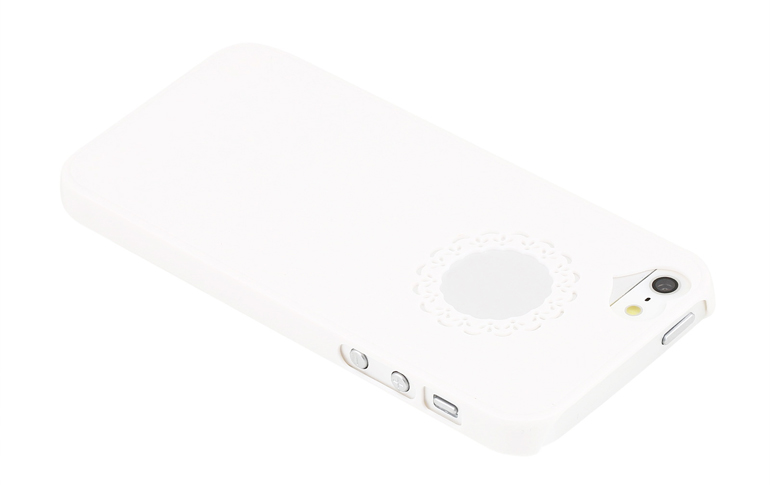 чехол sweet heart iphone 5 white