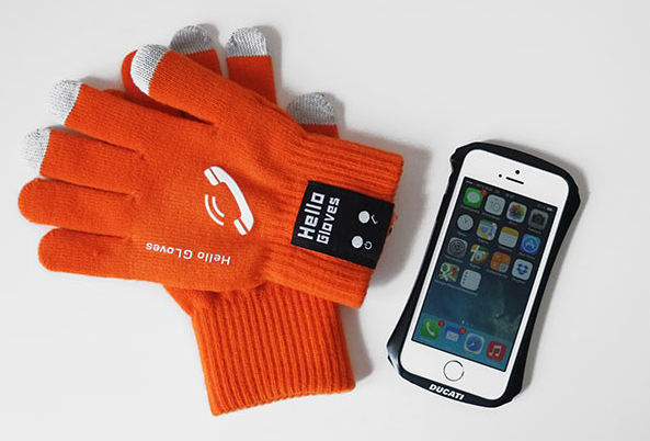 Bluetooth-перчатки Hello Gloves для iPhone