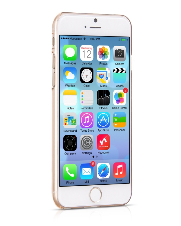 Чехол HOCO Ultra Thin PC Golden для iPhone 6