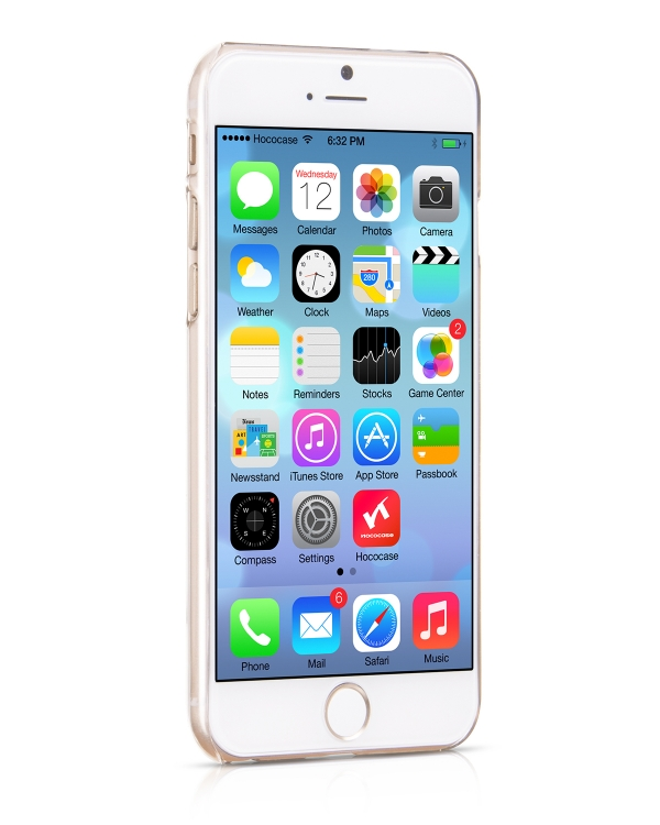 Чехол HOCO Ultra Thin PC White для iPhone 6