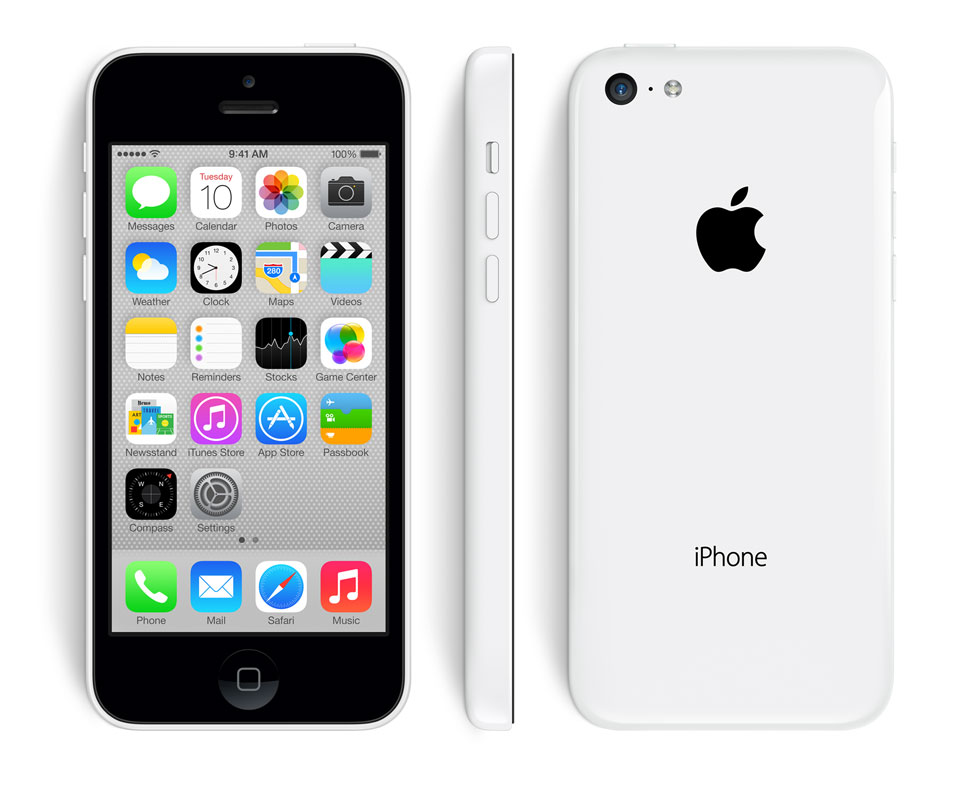 iphone 5c design white