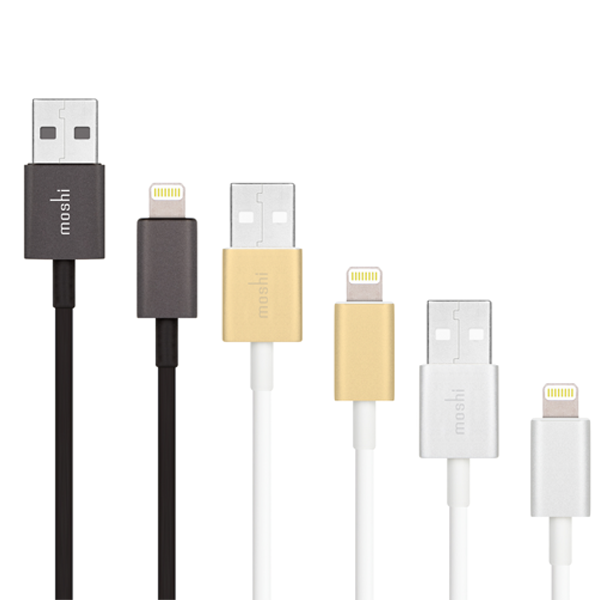 кабель moshi Apple Certified Aluminium Lightning to USB