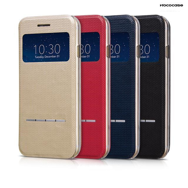 чехол HOCO Smart Silde Leather Golden для iPhone 6