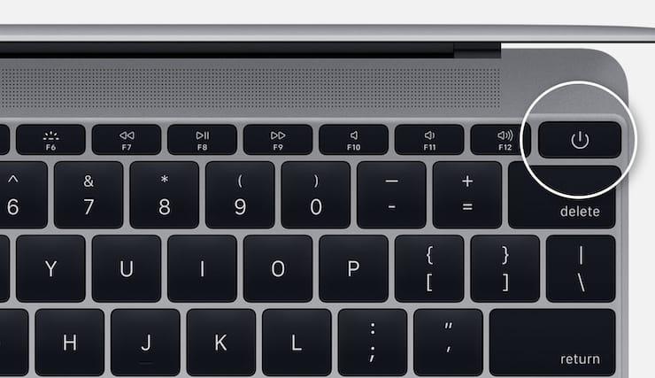 Как перегрузить Mac