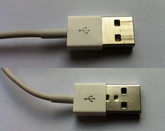 как отличить оригинальный кабель Lightning для Iphone от китайской