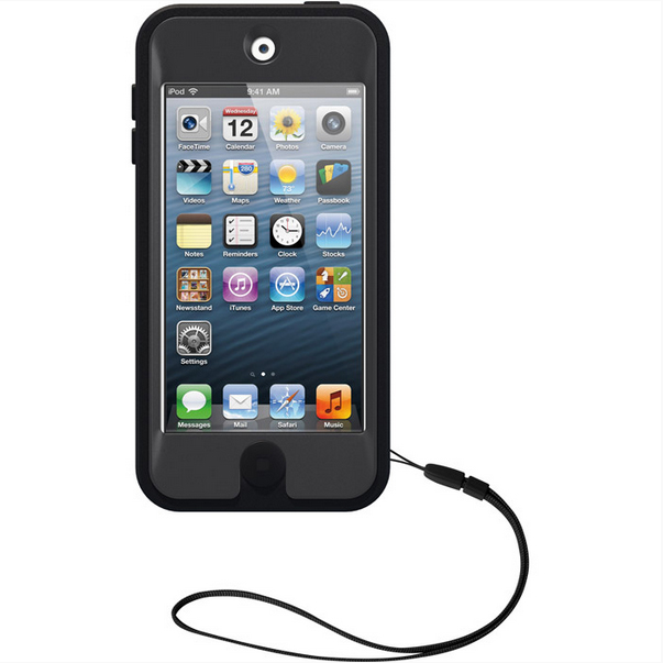 otterbox defender ipod touch 5g black